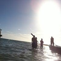 Photo taken at Playa Langosta by Gustavo V. on 8/11/2012