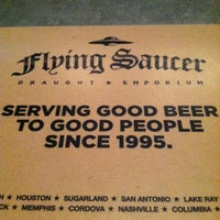 Photo taken at Flying Saucer by Andres R. on 6/20/2012