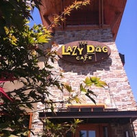 Photo taken at Lazy Dog Restaurant & Bar by KAMI on 8/15/2011