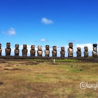 Photo taken at Easter Island by Lulu on 3/19/2012