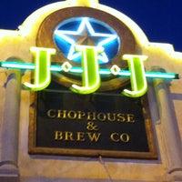 Photo taken at Triple J Chophouse by Terri E. on 5/5/2012