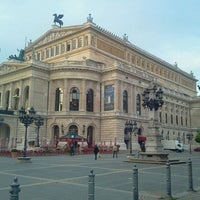 Photo taken at Alte Oper by R P. on 10/20/2011