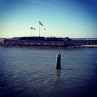 Photo taken at Fort Sumter National Monument by Lauren P. on 6/18/2012