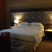 Photo taken at Sheraton Milan Malpensa Airport Hotel & Conference Centre by keiko on 4/18/2012