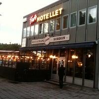 Photo taken at Restaurang Sorbon by Fredrik A. on 8/30/2011