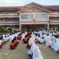 Photo taken at Sekolah Rendah Katok 'A' by Zulkhairi Z. on 1/24/2012