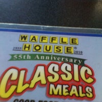 Photo taken at Waffle House by Ed M. on 9/2/2011