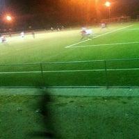 Photo taken at Montshiwa Stadium by Motlotlegi M. on 6/30/2012