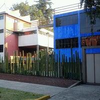 Photo taken at Museo Casa Estudio Diego Rivera y Frida Kahlo by Atreyu S. on 6/8/2012