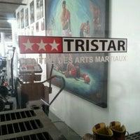 Photo taken at Tristar Gym by Lindsay-Dora G. on 4/2/2012