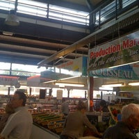 Photo taken at Marché Couvert by Nathan G. on 7/18/2011