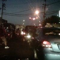 Photo taken at Perempatan Kedung Cowek by teuku r. on 8/6/2012