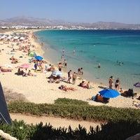 Photo taken at Agios Prokopios Beach by Saia on 8/24/2012