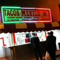 Photo taken at Javier's Tacos Mexico by Jc O. on 10/21/2011