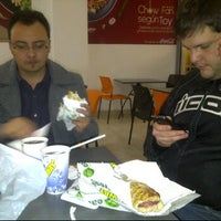 Photo taken at Subway by Diego M. on 11/17/2011