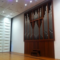 Photo taken at Ewha Womans University Music Building by Hyejin P. on 6/4/2012