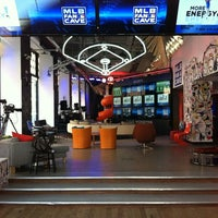 Photo taken at MLB Fan Cave by Brandon S. on 5/19/2012