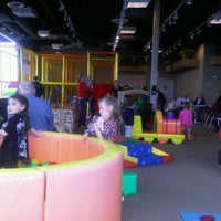 Photo taken at Kinderland Indoor Play and Café by Danielle M. on 11/11/2011