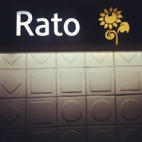 Photo taken at Metro Rato [AM] by Diogo A. on 6/2/2012