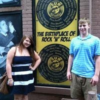 Photo taken at Sun Studio by Katie C. on 7/31/2012