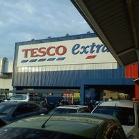 Photo taken at Tesco Extra by pitt m. on 12/8/2011
