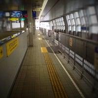 Photo taken at Osaka Monorail Dainichi Station by Yasuaki T. on 6/5/2012