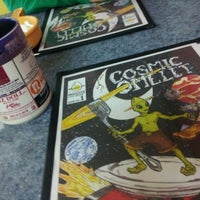 Photo taken at Cosmic Omelet by Cera C. on 4/22/2012
