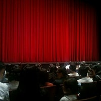 Photo taken at LG Arts Center by Dory K. on 10/9/2011
