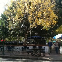 Photo taken at Plaza Dorrego by Alan P. on 5/5/2011