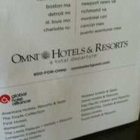 Photo taken at Omni Dallas Hotel at Park West by Mark F. on 7/17/2012