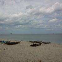Photo taken at Bang Chak Beach by Tavaris C. on 9/16/2011