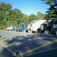 Photo taken at Ridgewood Recycling Center by Greg on 10/22/2011