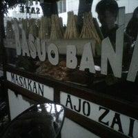 Photo taken at Sate Padang Basuo Bana by Netta N. on 6/14/2012