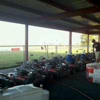 Photo taken at Dallas Karting Complex by Tj D. on 9/20/2011