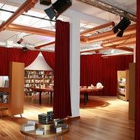 Photo taken at El Pequeño Teatro De Los Libros http://www.teatrodeloslibros.net by CarolaPelaez on 1/21/2012