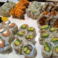 Photo taken at Sushi Palace by Sarah on 7/5/2012