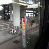 Photo taken at Airport (Ground Transportation Centre) Bus Terminus by 9024 b. on 3/6/2011