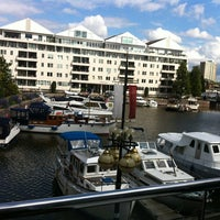 Photo taken at The Chelsea Harbour Hotel London by iSponsor on 7/19/2012