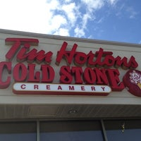 Photo taken at Tim Hortons / Cold Stone Creamery by Randy C. on 4/11/2012