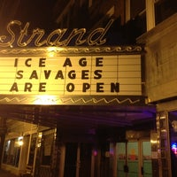Photo taken at Strand Theater by David S. on 8/18/2012