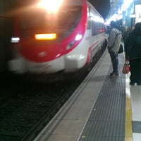 Photo taken at RENFE Plaça de Catalunya by Andrea B. on 4/13/2012