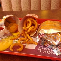 Photo taken at Arby's by Patrick E. on 2/20/2012