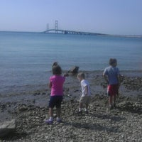 Photo taken at Straits of Mackinac by Michael W. on 8/31/2012