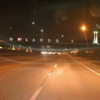 Photo taken at Orlando Sign by JacQue D. on 11/30/2011