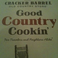 Photo taken at Cracker Barrel Old Country Store by Sarah M. on 8/28/2011