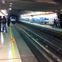 Photo taken at Metro Hernando de Magallanes by Leonardo N. on 9/21/2011