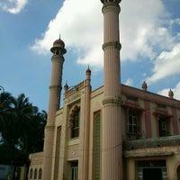 Photo taken at Hanafi Juma Masjid by Abdul H. on 1/2/2012