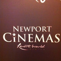 Photo taken at Newport Cinemas by Ian B. on 10/29/2011