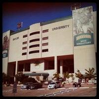 Photo taken at Floyd Casey Stadium by MoiseKapenda B. on 9/24/2011