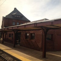 Photo taken at New London Union Station by Douglas N. on 2/20/2012